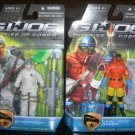 GI Joe SHIPWRECK+DOC lot Rise Cobra TRU MOC RARE roc