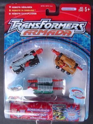 Transformers armada minicon land military team mosc New