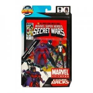 Marvel Universe Secret Wars #8 Black Spider-man Magneto