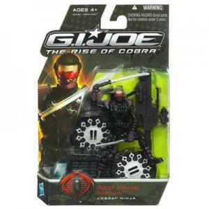 GI Joe Rise of Cobra ROC MOC red fang ninja Trooper