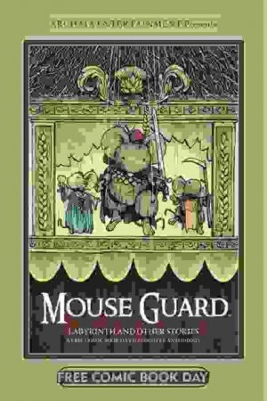 MOUSE GUARD LABYRINTH & OTHER STORIES HC FCBD 2012 BY ARCHAIA