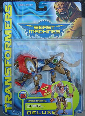 transformers beast machines snarl moc rare