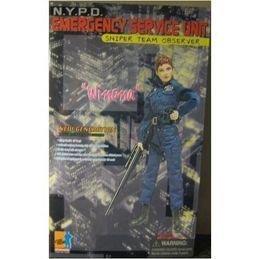 """12"""" DRAGON ACTION FIGURE WINONA NYPD ESU"""