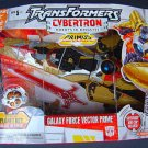 Transformers Cybertron galaxy force vector prime MIB
