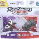 transformers cybertron minicon Thrust vs. Anti-Blaze moac