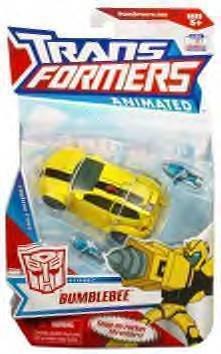 transformers animated Bumblebee mib rare