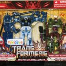 TRANSFORMERS WHIRL vs. BLUDGEON TOYS R US EXCLUSIVE