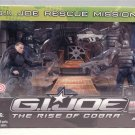 2009 GI Joe The Rise of Cobra MIB Rescue Mission Target