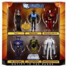 target DC Universe JLU 6 Pack MUTINY IN THE RANKS MISB