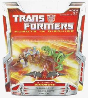 Transformers Dinobots Mini-Con Classics team mosc new
