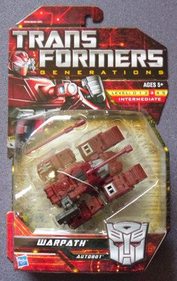 TRANSFORMERS generations warpath moc classics