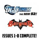 Batwing #1-8 The New 52 DC Comics All 1st Prints 2011 VF/NM New 52