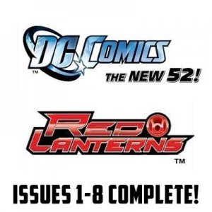 Red Lanterns #1-8 The New 52 DC Comics All 1st Prints 2011 VF/NM New 52