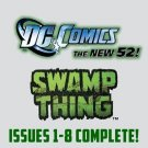 Swamp Thing #1-8 The New 52 DC Comics All 1st Prints 2011 VF/NM New 52