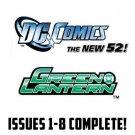 Green Lantern #1-10 New 52 DC Comics All 1st Prints 2011 VF/NM New 52