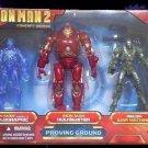 Iron Man 2 PROVING GROUND Kmart Exclusive 3-Pack War Machine Hulkbuster + NICE!!
