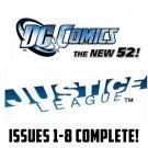Justice league Jim Lee #1-10 New 52 DC Comics All1st Prints VF/NM