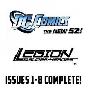 legion #1-10 The New 52 DC Comics All 1st Prints 2011 VF/NM New 52