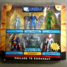 DC Universe INFINITE HEROES PRELUDE TO DOOMSDAY 6 figure set