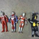 japanese vinyl toys-Ultra 7, Ultraman Tiga, Ultraman Ace & Beltran