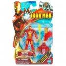 "Marvel Universe 3 3/4"" INFERNO Armor IRON MAN moc"