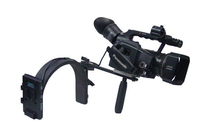 Switronix DV-BRN/V - DV Camera Shoulder Bracket w/V-Mount Plate
