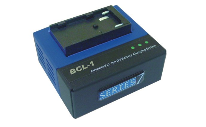 Switronix BCL-1P - Single Position Quick Charger for Pan. CGR Series