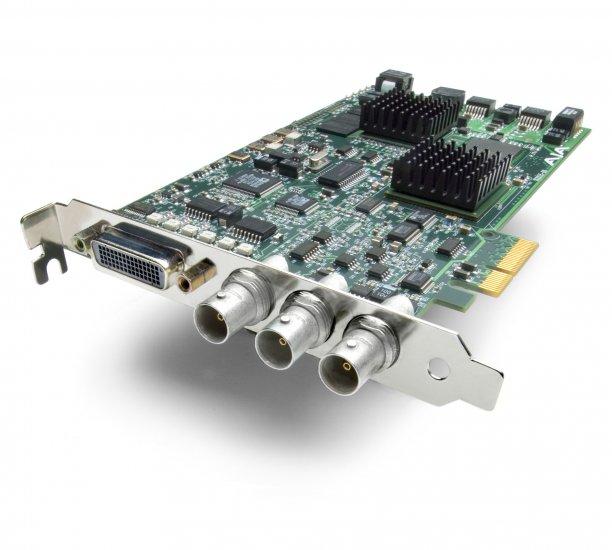 AJA XENA LH - HD / SD 10-bit Digital and 12-bit Analog Capture and Output PCI Card PCI/PCI-X
