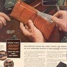 1944 THE BUXTON STITCHLESS BILLFOLDS MAGAZINE AD (105)