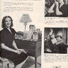 1944 CANNON HOSIERY WITH BARBARA BRITTON  MAGAZINE AD  (64)