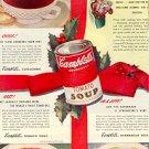 1944 CAMPBELLs SOUP AT CHRISTMAS MAGAZINE AD  (70)