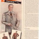 1944 BRENTWOOD SPORTSWEAR MAGAZINE AD  (84)