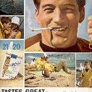 1944 CHESTERFIELD KING CIGARETTES MAGAZINE AD  (89)