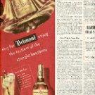 1949 BELMONT STRAIGHT BOURBON WHISKEY MAGAZINE AD  (130)