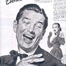 1949 LISTERINE FOR DANDRUFF - ARTIST SIGNED MAGAZINE AD  (110)