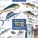 1949 ETHYL CORP THE TRADEMARK OF NATURE  IDENTIFY THE FISH YOU CATCH MAGAZINE AD  (113)