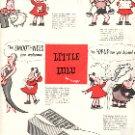 1949 LITTLE LULU AND KLEENEX TISSUES  MAGAZINE AD  (123)