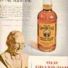 1952 OLD GRAND DAD KENTUCKY STRAIGHT BOURBON WHISKEY  MAGAZINE AD  (134)