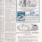 1952 KENTUCKY CLUB MILD POUCH PIPE TOBACCO IN HUMIDOR CANISTER MAGAZINE AD  (154)