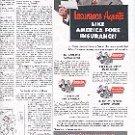 1952 AMERICA FORE INSURANCE GROUP CONTINENTAL  FIDELITY-PHEONIX  NIAGARA  AMERICAN EAGLE  AD  (158)