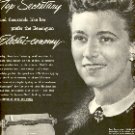 1952 CANADA DRY TOP SECRETARY PREFER REMINGTON RAND ELECTRI-CONOMY TYPEWRITER MAGAZINE AD (143)