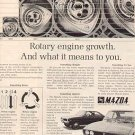 1971 MAZDA  ROTARY ENGINE GROWTH   MAGAZINE CAR AD (25)