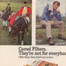 1971 CAMEL FILTER CIGARETTE  MAGAZINE AD  (27)
