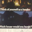 1971 PG & E  WHICH HOUSE WOULD YOU BURGLE MAGAZINE AD (57)
