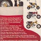 1972 HONDA SMALL MOTORCYCLES   MAGAZINE AD  (42)