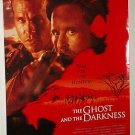THE GHOST & THE DARKNESS with MICHAEL DOUGLAS & VAL KILMER ONE SHEET MOVIE POSTER  # 102 NEAR MINT