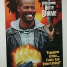 A LOW DOWN DIRTY SHAME with KEENAN IVORY WAYANS ONE SHEET MOVIE POSTER # 43 NEAR MINT