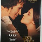 JANE EYRE w/ CHARLOTTE GAINSBOURG & WILLIAM HURT ONE SHEET MOVIE VIDEO POSTER # 87 NEAR MINT