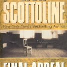 FINAL APPEAL by LISA SCOTTOLINE 2001 PAPERBACK BOOK VERY GOOD CONDITION