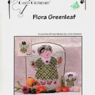 FLORA GREENLEAF ANGEL CROSS STITCH  by LINDA CONNORS CALICO CROSSROADS CRAFT BOOK NEW